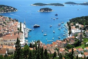 View from Hvar fortress290x290